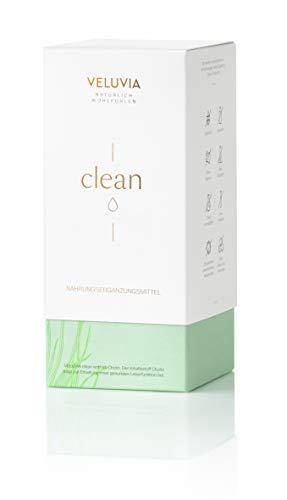 VELUVIA clean| Entgiften| Mit Cholin | vegan| Silymarin | Vitamin C | Spirulina Algen |Chlorella Algen| Afa Algen|1 Monatspackung 30 x 2 Kapseln| Nahrungsergänzungsmittel