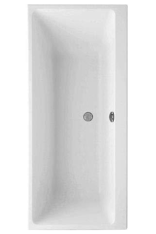 Villeroy en Boch acryl badkuip rechthoek Subway Duo, UBA180SUB2V 1800x800mm, Kleur: wit-alpine - UBA180SUB2V-01