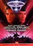 STAR TREK 5-Final Frontier Laserdisc-not a vhs or dvd-need laserdisc player to use