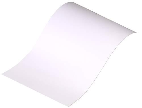 Neoxxim 3,77€/m² - Plotterfolie Matt 1 - Weiss - 500 x 106 cm -Plotter Folie Möbelfolie matt in viele Farben Größen wählbar