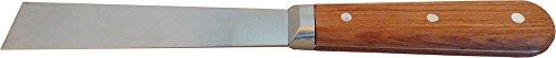 Haromac Spatule pour peintre 25 mm, acier inoxydable, avec manche en bois de rose, lame continue conique 10046025sb