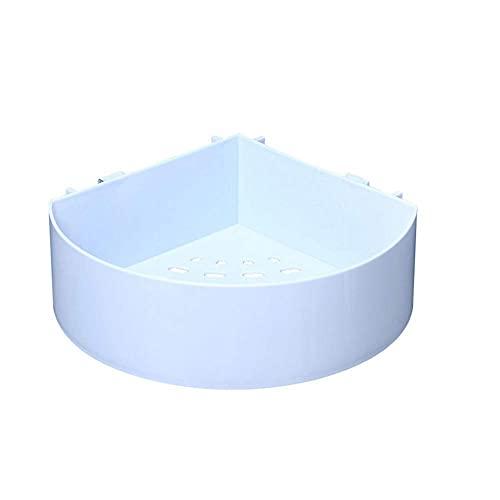 JYSXAD Estante de baño de plástico sin taladros Estante de baño Toalla de Almacenamiento de Ducha Duradera Estante de Montaje en Pared CADD de Ducha (Accesorios)