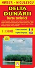 Delta Dunarii Harta Turistica Si Rutiera Huber Niculescu Amazon