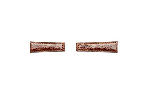 correa, auténtico Cocodrilo Compatible para Rolex GMT/Daytona/Oyster 20mm dorado