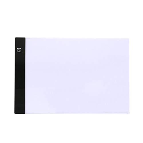 Tollmllom Estación de Copiado Multifuncional Acceso Directo a la Mesa de Escritura A3 Fotocopiadora Mesa LED de animación Tablero emisor de luz para copiar caligrafía Regalo