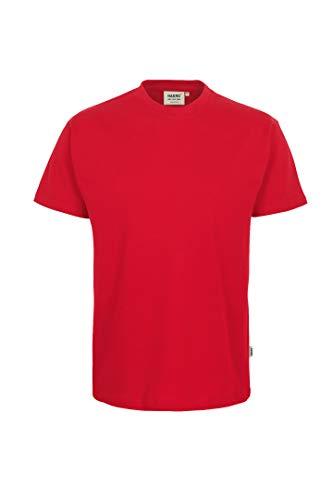 HAKRO T-Shirt Heavy, Rot, S