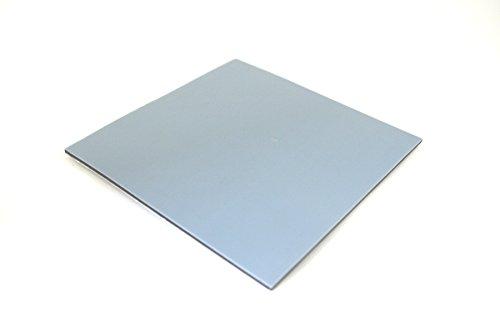 GleitGut Teflon Zuschnitt selbstklebend 100 x 100 mm - gestanzt - Teflongleiter für Elektrogeräte & Co. - nur 1,5 mm stark - PTFE-Platte