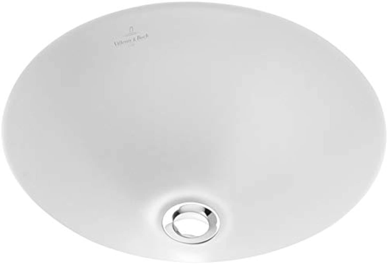 Villeroy & Boch LOOP & FRIENDS Unterbauwaschtisch ohne überlauf  280 mm star Weiß activecare