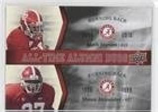 Shaun Alexander (Football Card) 2012 Upper Deck University of Alabama - All-Time Alumni Duos #ATAD-IA