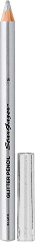 Stargazer Products Glitzer Kajal/Lippenstift, silber, 1er Pack (1 x 1 g)