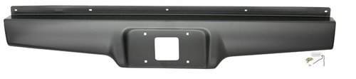 IPCW CWRS-82S10 Chevrolet S10/S15 Steel Roll Pan with License Plate Hole and Light