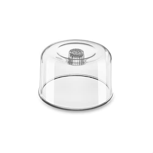 Cupula Acrilico para Queijo Minas, 15 cm, Transparente, Brinox