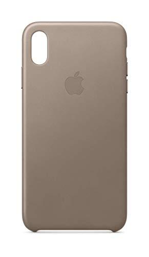Apple Leder Case (für iPhone XS Max) - Taupe