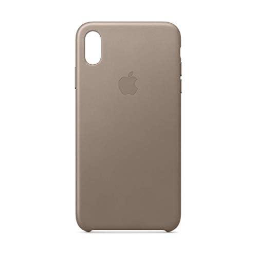 Apple Custodia in pelle (per iPhoneXSMax) - Grigio talpa