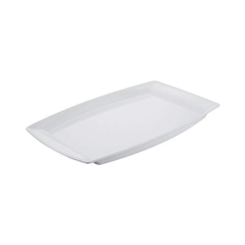 Revol - plat buffet en porcelaine blanche - alexandrie Couleur - Blanc, Tailles - 53 x 32,5 x H. 3,8 cm
