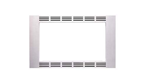 Panasonic 27 1.1 cu ft Microwave Ovens – NN-TK623G (Stainless Steel) Trim Kit, Silver