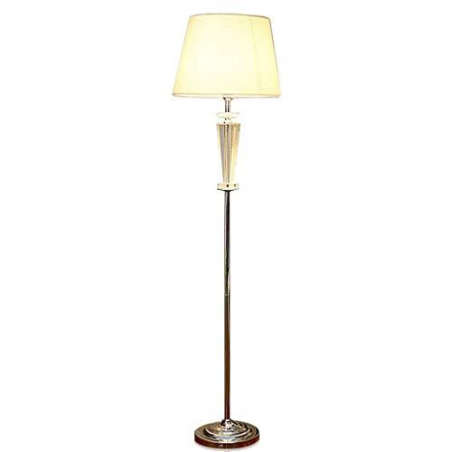 BINGFANG-W Dormitorio El cristal llevó creativo de lujo Lámpara de pie, simple moderna piso dormitorio iluminación de la manera decorativa Lámparas de pie Eye-Cuidado Vertical luz del piso Lámparas de