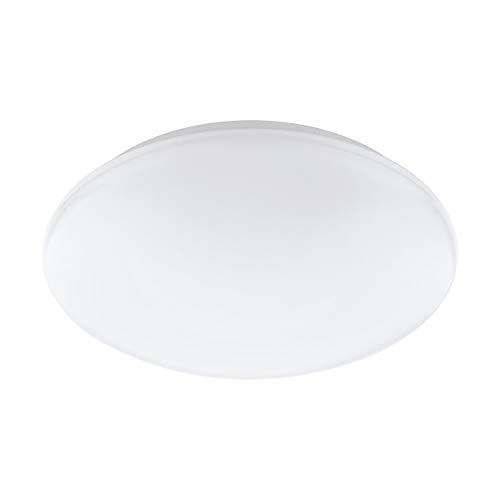 Eglo Giron de c lámpara de pared/techo, acero, plástico, 17W, blanco