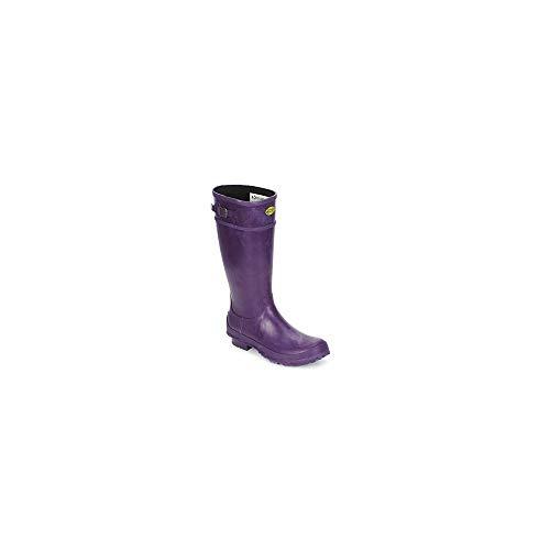 Superga 745 Rbru Wellies Stiefel Damen Violett - 36 - Gummistiefel Shoes