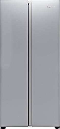 Fridgemaster MS83430FFS American Fridge Freezer - Silver - A+ Rated