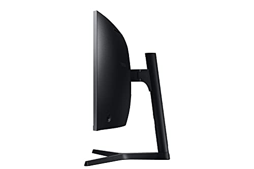 Samsung LC34H890WGUXEN 86,4 cm (34 Zoll) Premium Curved Monitor (HDMI, Display Port, USB Type-C, USB 3.0 HUB, 3,5 mm Audio, 4 ms Reaktionszeit (G/G)), dunkelsilber - 7