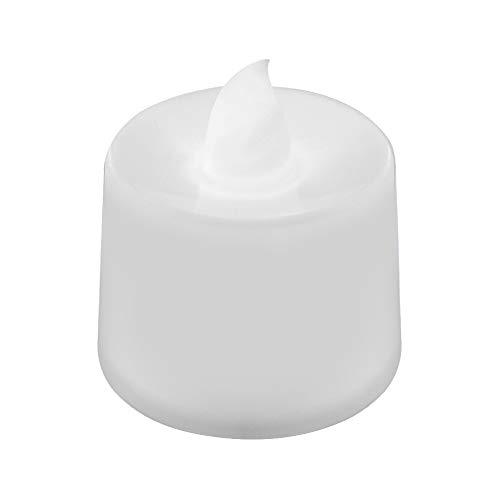 YMKT Velas LED sin llama, velas LED pilares con pilas parpadeantes sin humo lámpara multicolor sin llama para bodas, Navidad, recuerdos, Halloween