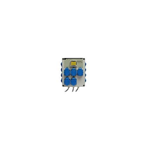 Programmateur d'éclairage 12 x 600W + prise chauffage - Timer Box GSE