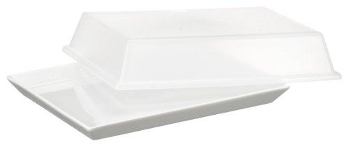 Arzberg Form 3330 Küchenfreunde Platte mit Deckel transparent 15 x 20cm im Geschenkkarton