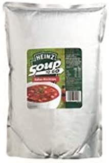 4 X Heinz Soup to GO MINESTRONE 3KG