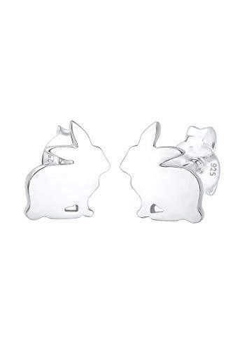 Elli Ohrringe Kinder Kaninchen Osterhase 925 Silber