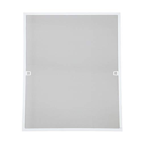 wolketon 120x140CM Fliegengitter fenster-Alurahmen Mückenschutz Gaze Gaze Mückengitter UV-Schutz Wasserdicht Für Wohnzimmer Fenster Balkone
