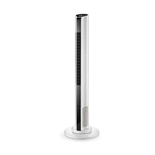 Ventilador De Torre Oscilante,90cm, Oscilación De 80° 45W, 3 Velocidades, 3 Modos Ventilador Super Silencioso,Ventilador Columna Con Mando A Distancia,110cm