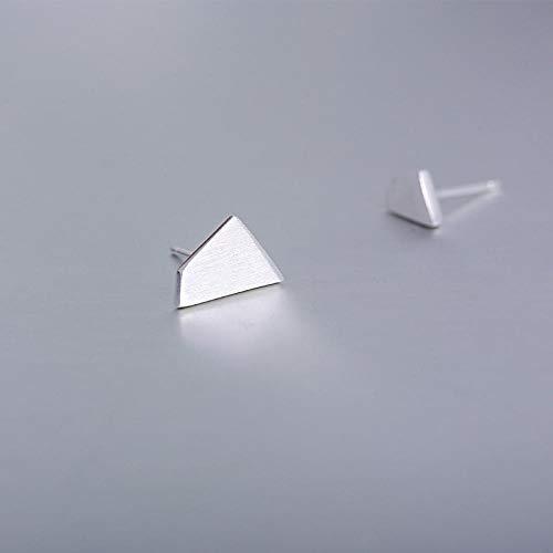 Pendientes Mujer Pendientes Irregulares Geométricos De Plata De Ley 925 para Mujer Joyería De Plata De Ley De Moda