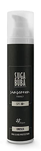 Suga Buba Protector solar para niños y familia, SPF 30+, 100 ml