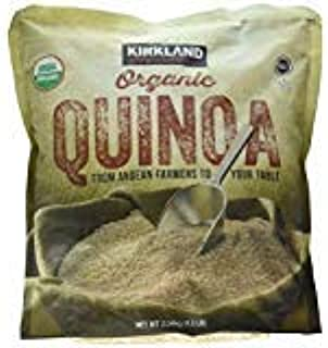 Kirkland Signature Organic Gluten-Free Quinoa From Andean Farmers To Your Table - 2.04kg., 4.5lb -PACK OF 2