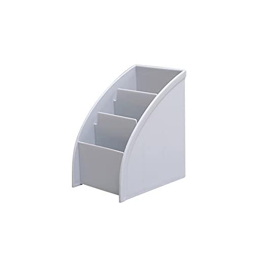 Diseño de soporte de control remoto, mesa de centro multiuso, caja de almacenamiento de suministros de oficina, escombros domésticos, guía de televisión, bolígrafo y otras cajas de almacenamiento