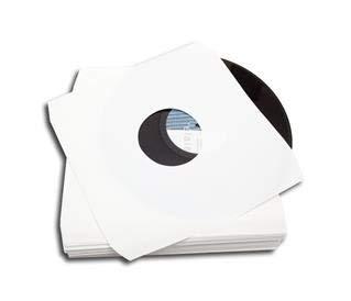 LP Innenhüllen ohne Fütterung Eckschnitt Protected (100 Stück)