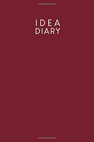 [画像:Idea diary: Dotted notebook for your ideas, sketches and mind maps | Design: Red]