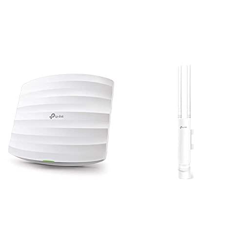TP-Link Eap245 - Punto De Acceso Gigabit Inalámbrico De Doble Banda Ac1750 WLAN + Eap225-Outdoor-Omada Ac1200 Punto De Acceso Inalámbrico
