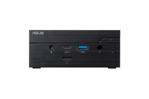ASUS PN62S - Ordenador de sobremesa (Intel i7-10510U, Memoria DDR4 de 8 GB, SSD de 512 GB, Windows 10 Pro), Color Negro