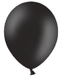 Belbal 25 Luftballons schwarz Qualitätsballons Ø ca. 27cm B85 (Standardgröße)