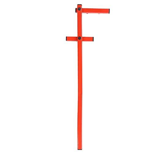 Herramienta de enderezamiento para dobladora de tablas, enderezador de plataforma con brazo en forma de U para valla de plataforma y madera contrachapada de mortaja y ranura