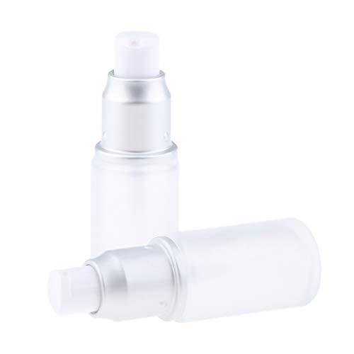 SM SunniMix 2pcs Bouteille De Verre Vide Recharge Cosmétique Maquillage Lotion De Voyage Contenant 20ml - 20ml spray