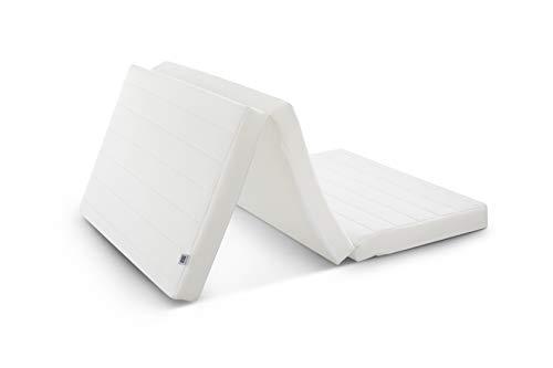 エアウィーヴスマートZ01セミダブル幅約120×長さ約195×厚さ約9㎝三つ折りマットレス通気性抜群体圧分散寝返りサポート1-250021-1ホワイト