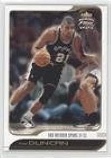Tim Duncan (Basketball Card) 2001-02 Fleer Focus Jersey Edition - [Base] #49