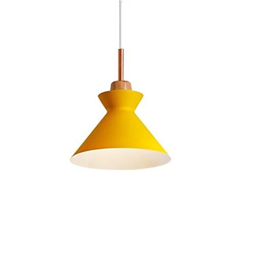 hongyupu Tulipas De Lamparas Lampara Techo Cristales Colgantes Accesorios de iluminación para techos Lamparas para Techo Luz de Techo Colgante Yellow