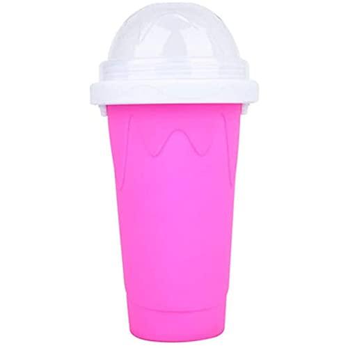 Specez de silicona Icy Portable Squeeze Quick Frozen Smoothies Taza Jugo de verano Bebida para niños y familia