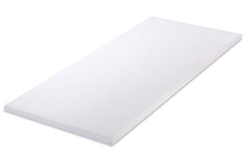 MSS 100700-PR-200.140.5 Soft Matratzenauflage mit Bezug, 200 x 140 cm, weiß