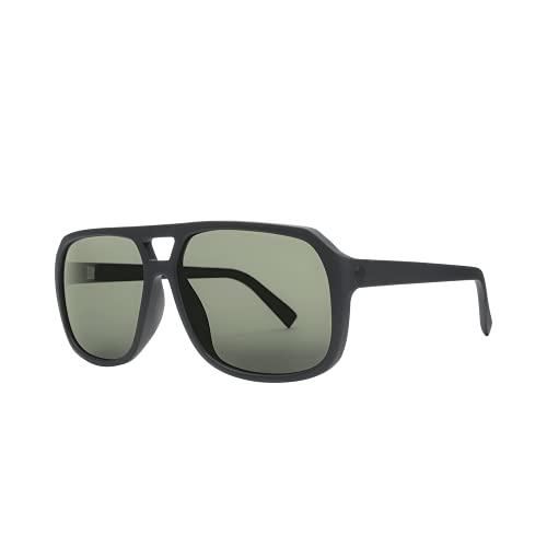 Electric - Dude Matte Black/OHM Grey Polarized Sunglasses