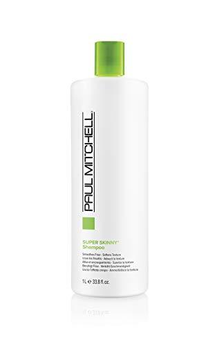 Paul Mitchell Super Skinny Shampoo - Haarpflege-Mittel mit farbschonender Rezeptur, pflegende Haarwäsche ideal für widerspenstiges Haar, 1000 ml